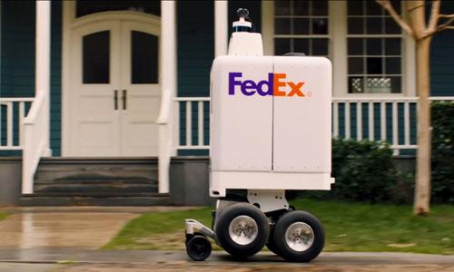 FedEx's autonomous delivery robot